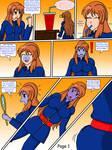 Art Request: Mikuru's blueberry costume pg 1