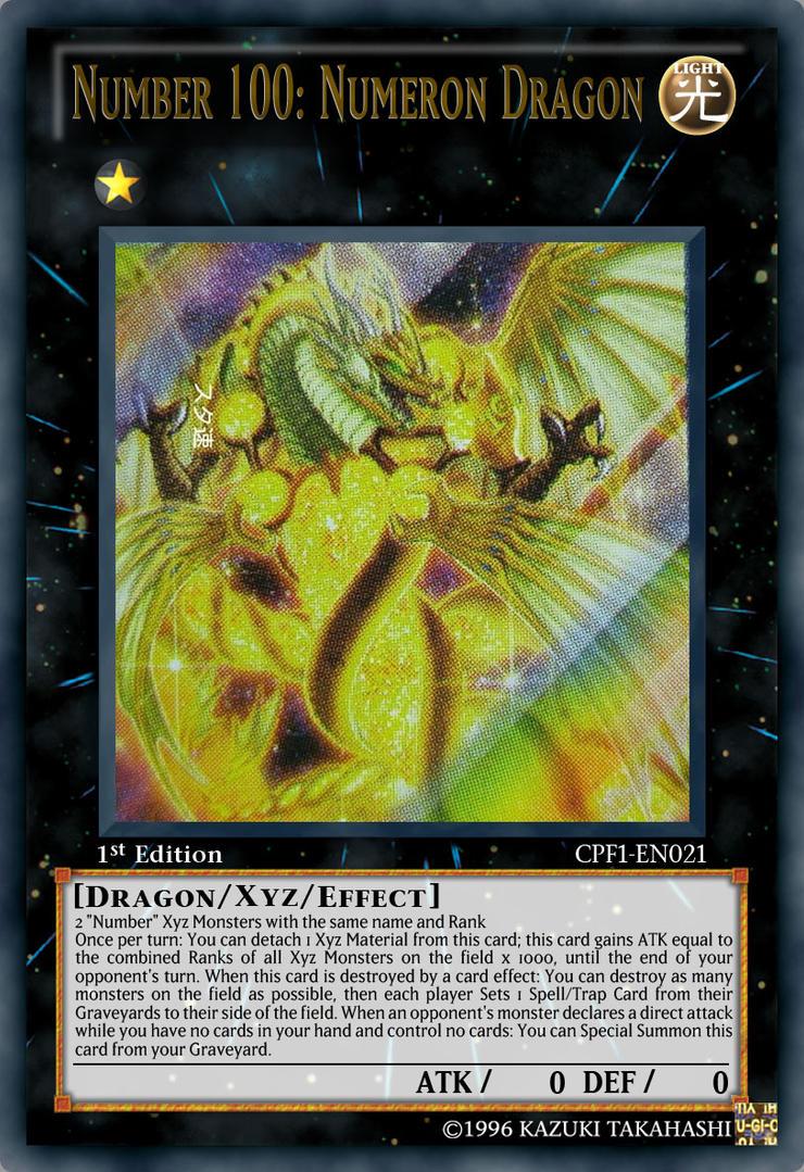 Yugioh zexal number 100 numeron dragon