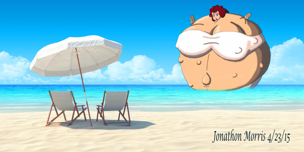 [Request] 50 Foot Full-Body Pregnant Woman by JAM4077