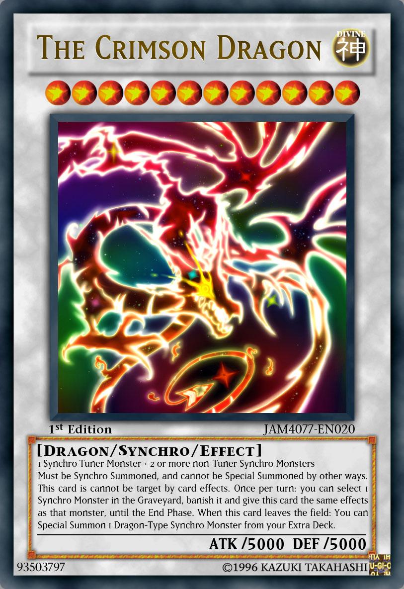 The Crimson Dragon by JAM4077 on DeviantArt