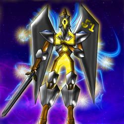 Number 51: Star Seraph Pegasus Rider artwork