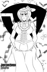 [Request] Pregnant Yukina Aguria by JAM4077