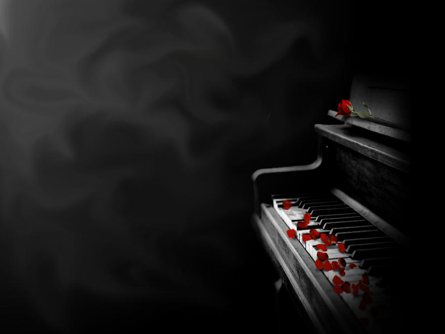 Piano wallpaper by celerybear