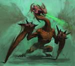 Mutanted dragon