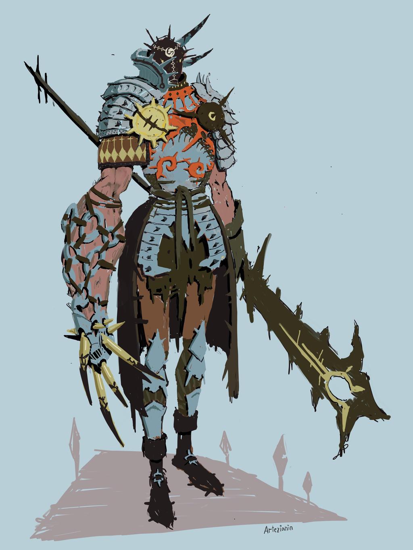 Knight by Artezianin