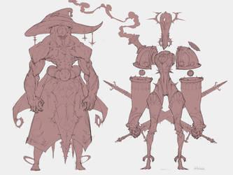 Fantasy chars 4 by Artezianin