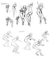 Iterative Drawing by NavyBlueManga
