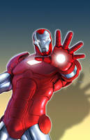 Marvel Adventures Iron Man 10 by francis001
