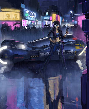 blade runner imagineFX cover