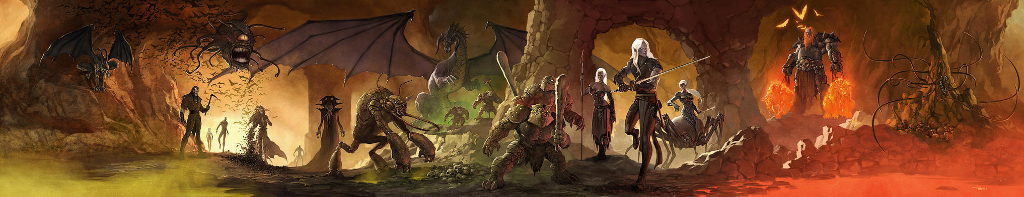 4e Dungeon Masters Screen by francis001