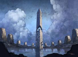 Obelisk of Esper by francis001