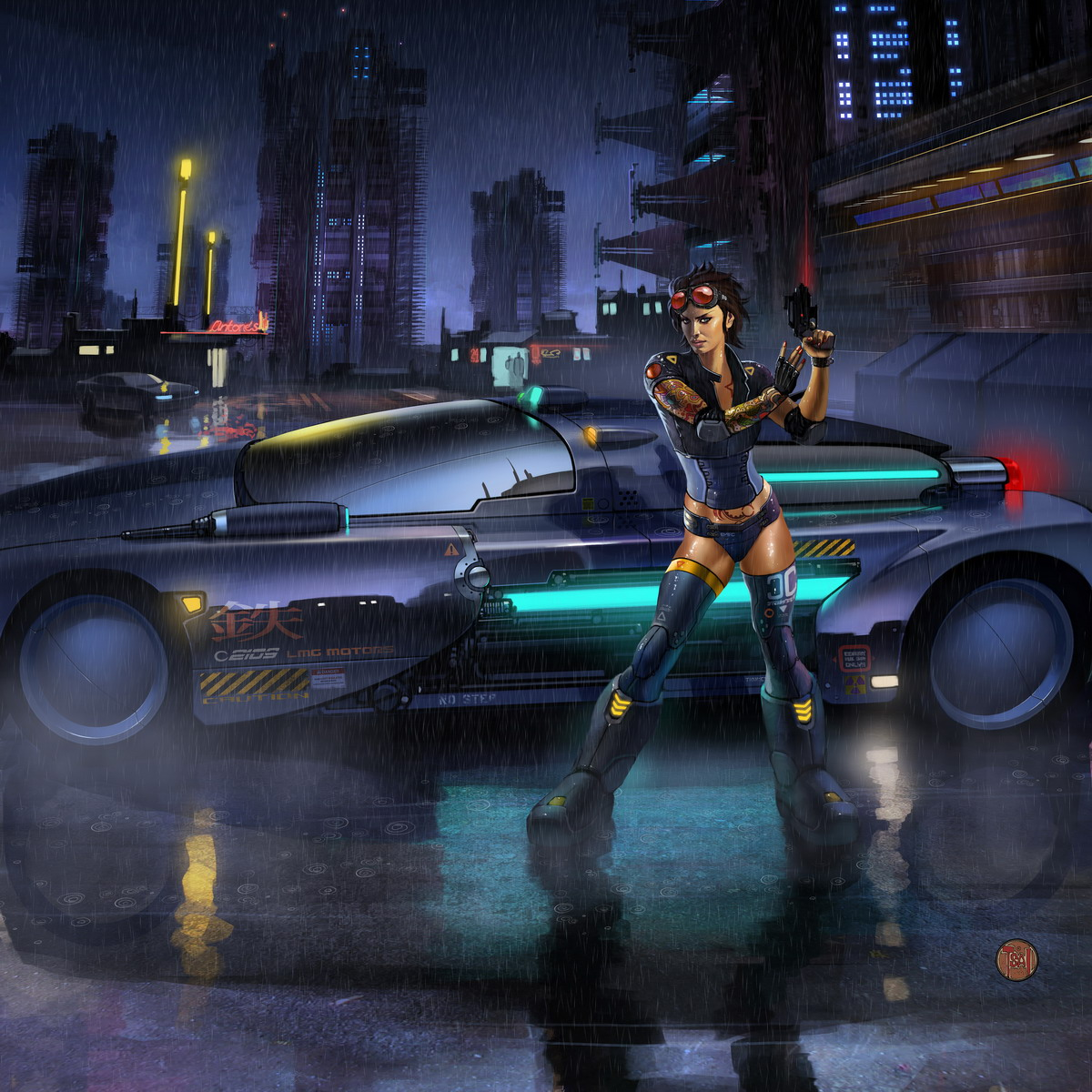 blade racer by francis001