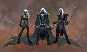 drow, from monster manual IV