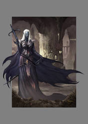 Drow of the Underdark by francis001