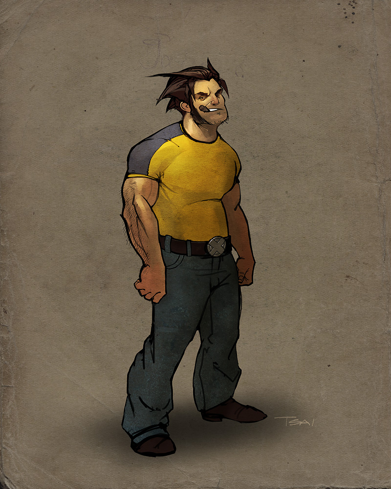 wolverine by francis001
