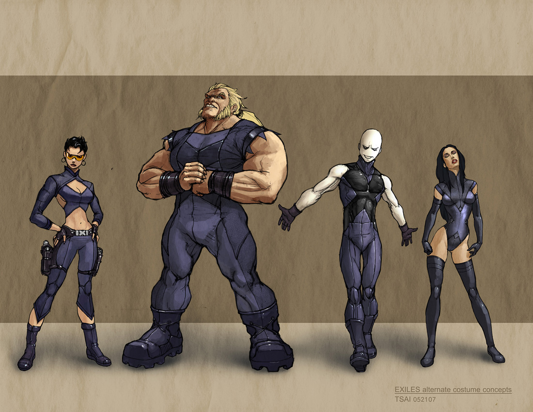 exiles by francis001