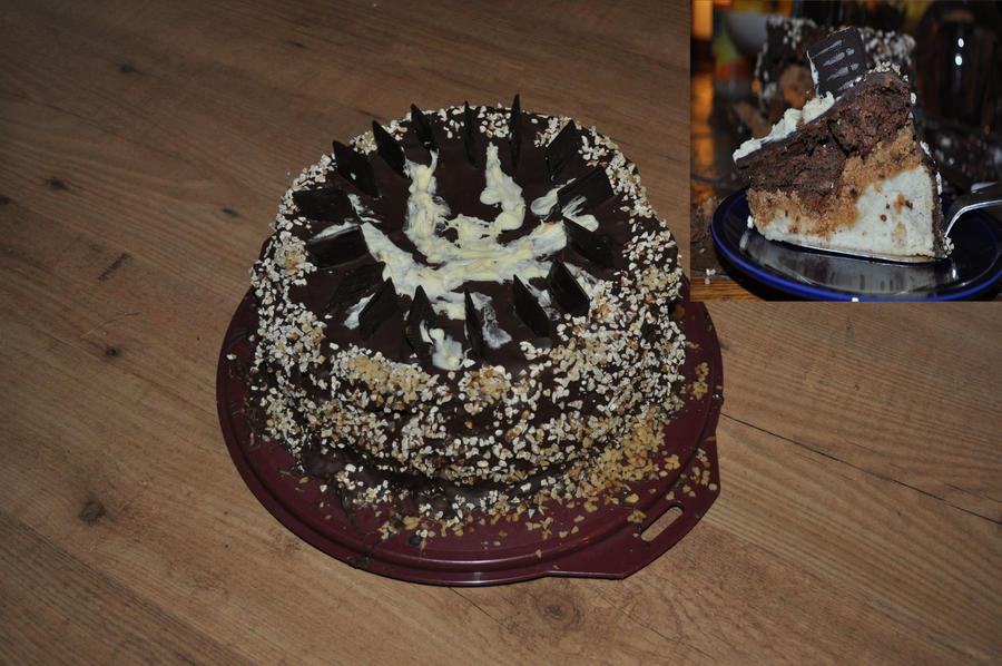 Chocolate Mousse Cake for real by JesseSaphir on deviantART