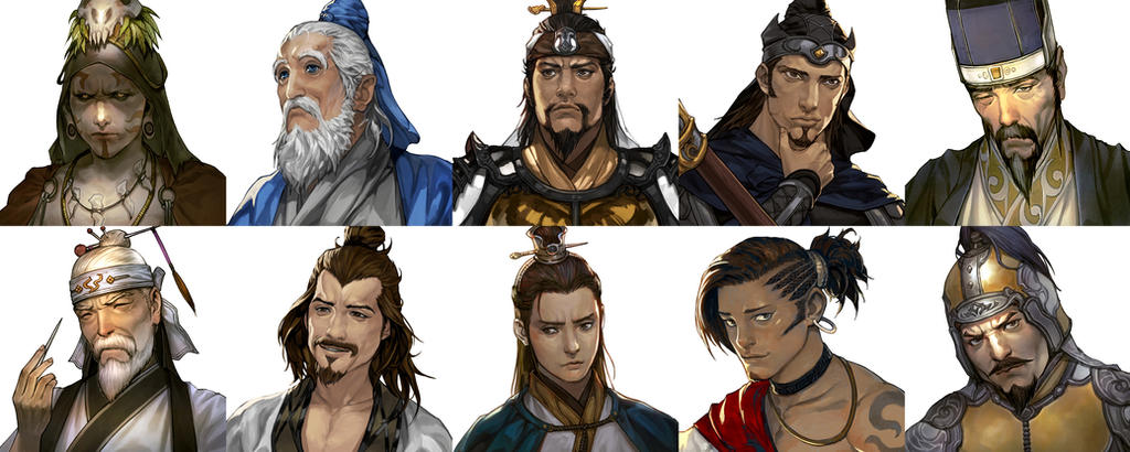 Romance of the three kingdoms by VictorBang