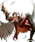 Bahamut - Gunslinger angel