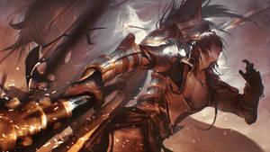 Dynasty Warrior 9 Wen Yang Fan Art