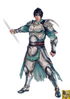 dynasty warriors 9 zhao yun by VictorBang