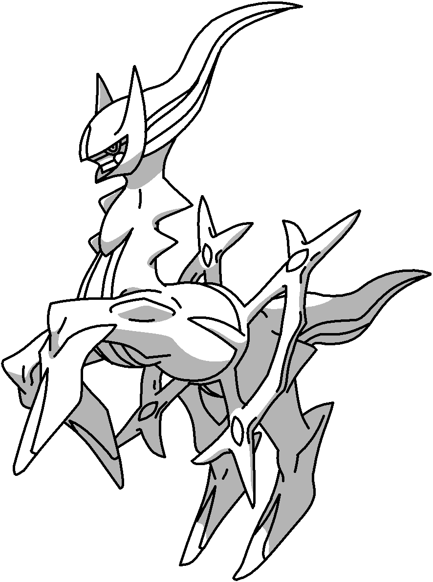 Pokemon Ausmalbilder Lugia : 100 Pokemon Coloring Pages Darkrai Articuno Coloring Page