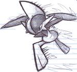 Gallade Pen Sketch