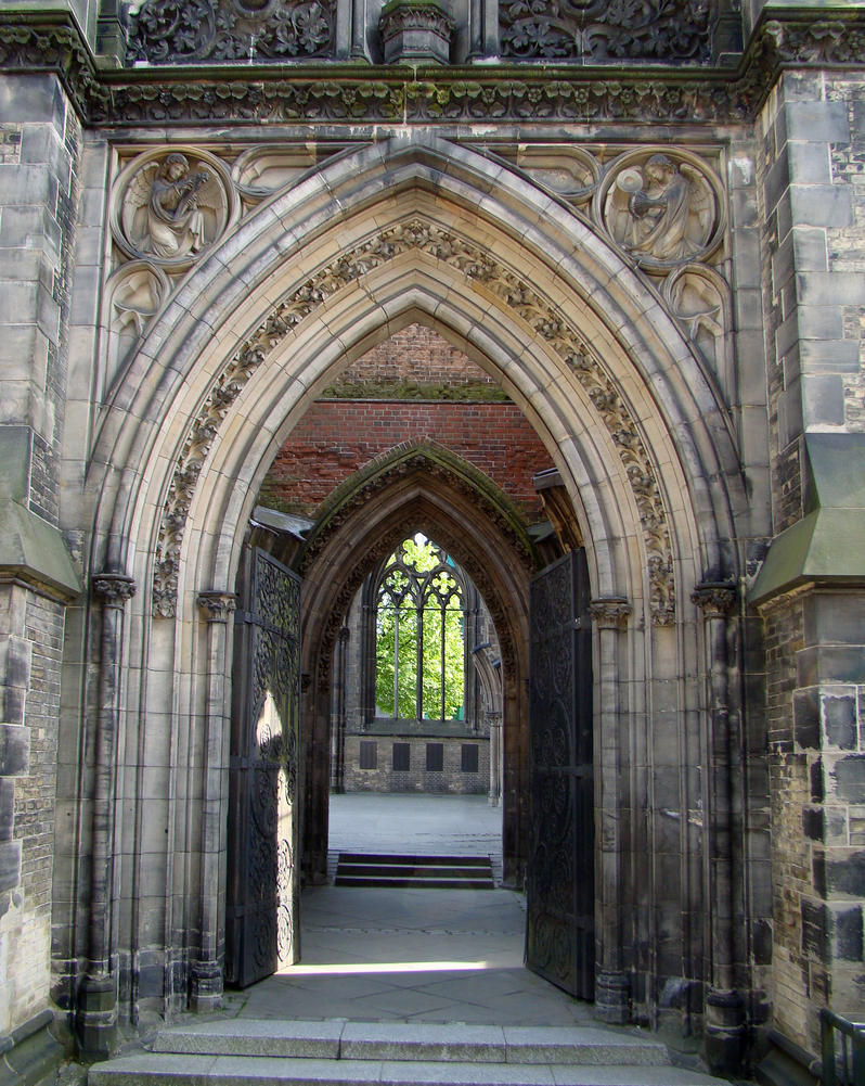 Gothic Architecture 01 By LuDa Stock