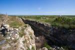 Histria Abandoned Ruins Stock