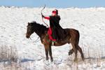 Medieval Horseback Archery Stock II