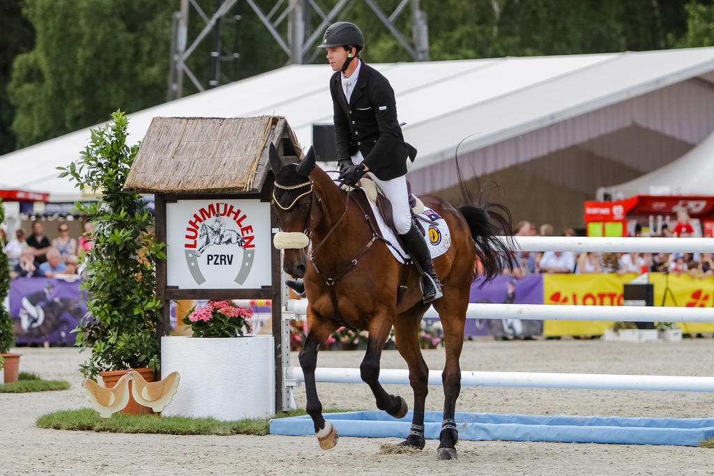 3DE Show Jumping Phase Stock 45 by LuDa-Stock