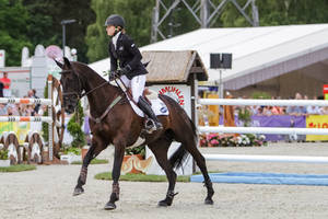 3DE Show Jumping Phase Stock 34 by LuDa-Stock