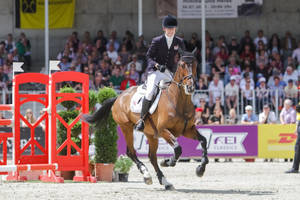 3DE Show Jumping Phase Stock 8 by LuDa-Stock