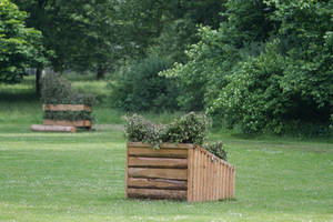 Brush Fence Skinny CC Obstacle