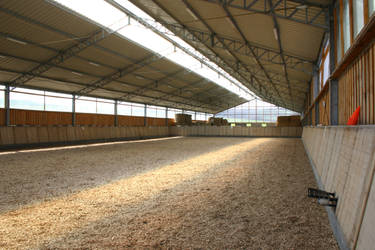 SF: Indoor Outdoor Riding Arena General by LuDa-Stock on