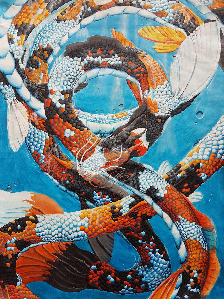 Koi Dragon by Devicorn