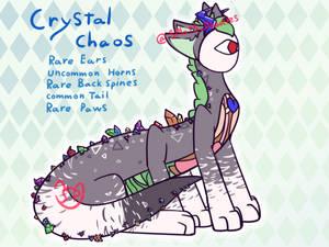 Crystal Chaos (GA Made Sneek)