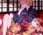 Rin-chan and Len-kun