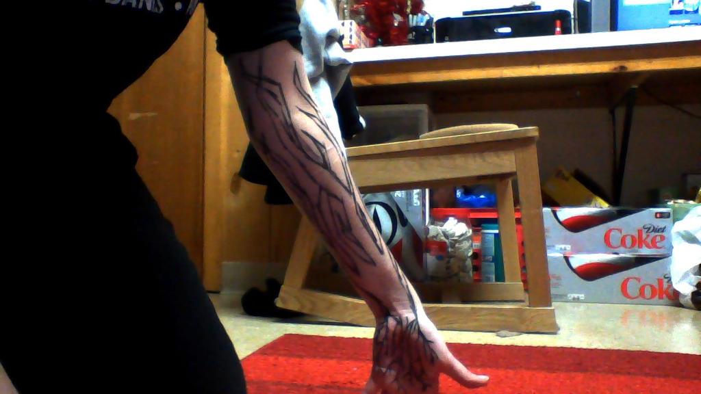 Sharpie Tattoos by vampirekisses13