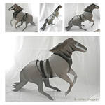 The Aluminum Horse by hrscgirl