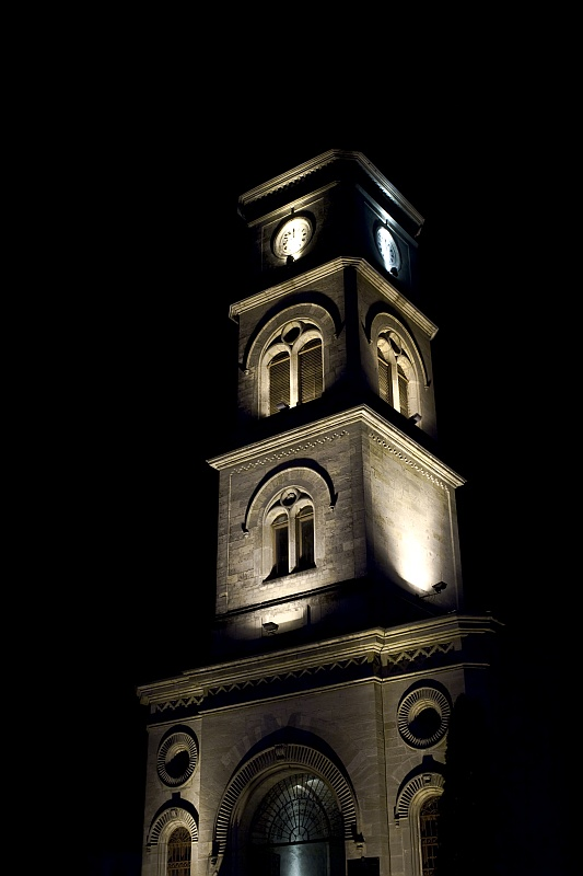 Church at night by theinsider