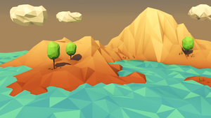 Low Poly Landscape by error-23