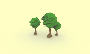Low Poly Trees by error-23