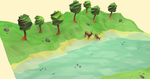 Down River (Low Poly)