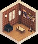 Urban Room #1 (Isometric)