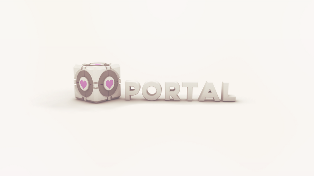 Portal Wallpaper (2560x1440) by error-23