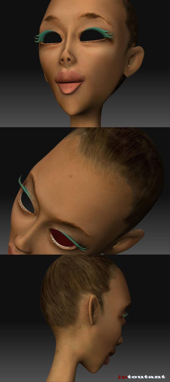 Clara face texture