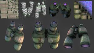 Binoculars by emaciate