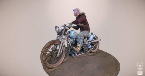 The lone rider 2
