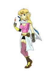 Adventure Zelda by Itsamesanic